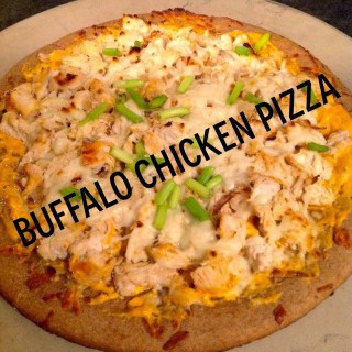 Buffalo Chicken Pizza, Clean Eating Recipes, Healthy Pizza Recipes, Healthy Dinner Ideas