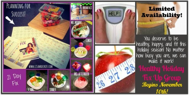 21 Day Fix Accountability Group, 21 Day Fix Meal Planing, 21 Day Fix
