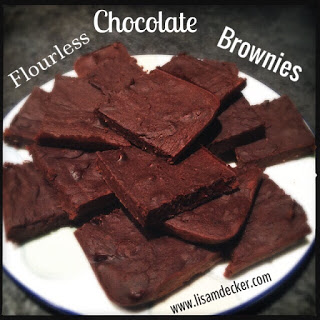 Flourless Chocolate Chickpea Brownies, Flourless Chocolate Brownies, Healthy Dessert, 21 Day Fix Approved Treats, Healthy Brownie Recipe