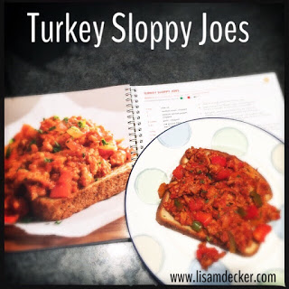 Turkey Slopp Joes, Fixate Cookbook Recipes, 21 Day Fix Recipes, Clean Eating, Meal Planning, 21 Day Fix, CIZE recipes