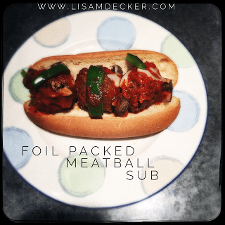 Meatball Subs, Foil Packed Meatball Subs, Meal Planning, Clean Eating, Healthy Eating, Healthy Dinners, 21 Day Fix Dinners