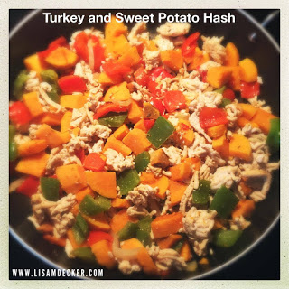 Clean Eating, Meal Planning, Healthy Dinner, Turkey and Sweet Potato Hash, Sweet Potatoes, Meal Planning, Quick Dinner Recipes, Successfully Fit, Lisa Decker