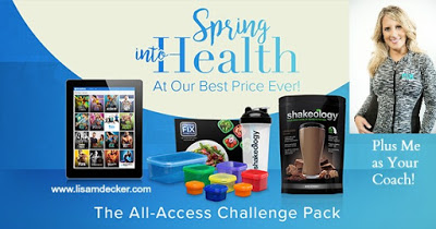 All Access Beachbody on Demand, Beachbody on Demand, Beachbody Workouts, Home Fitness, Home Workouts, Lisa Decker, Online Health and Fitness groups, 3 Day Refresh, Meal Planning, Spring Detox, Lisa Decker