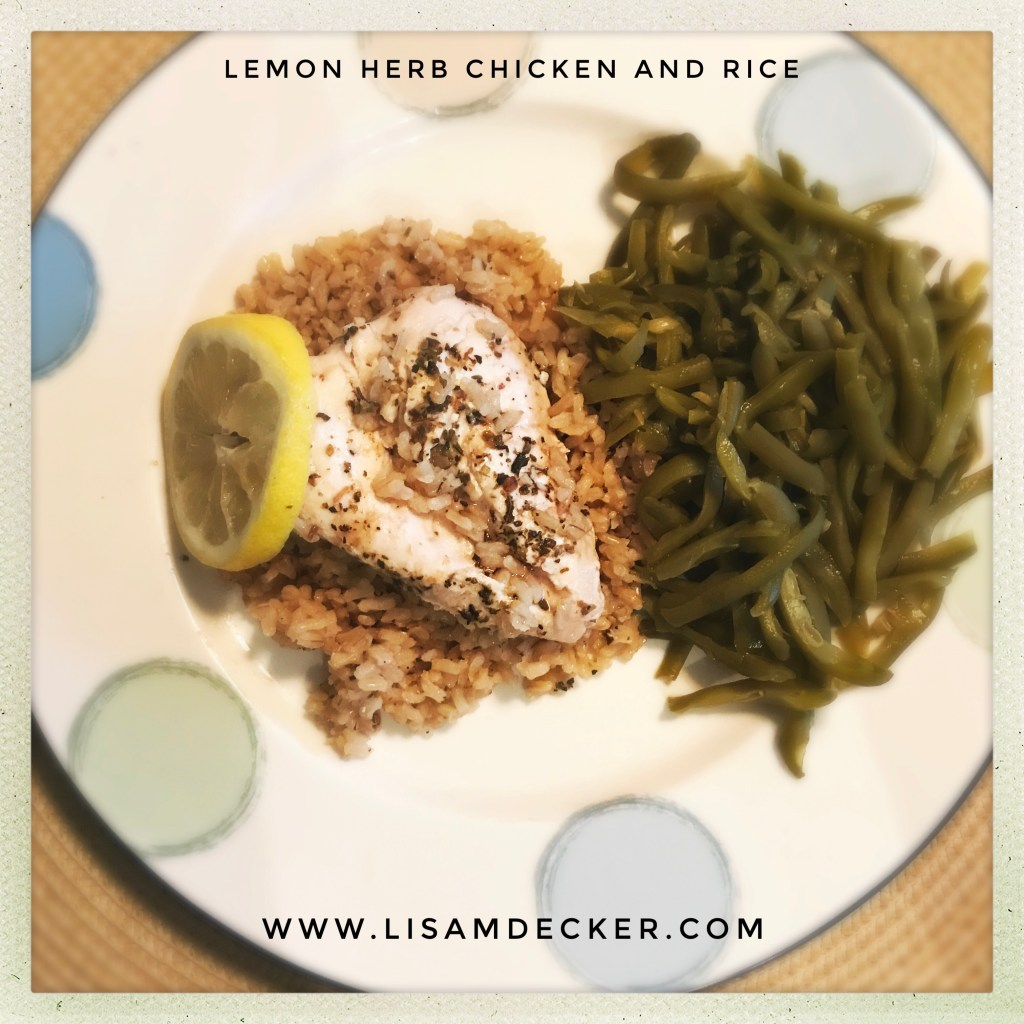 Lemon Herb Chicken and Rice