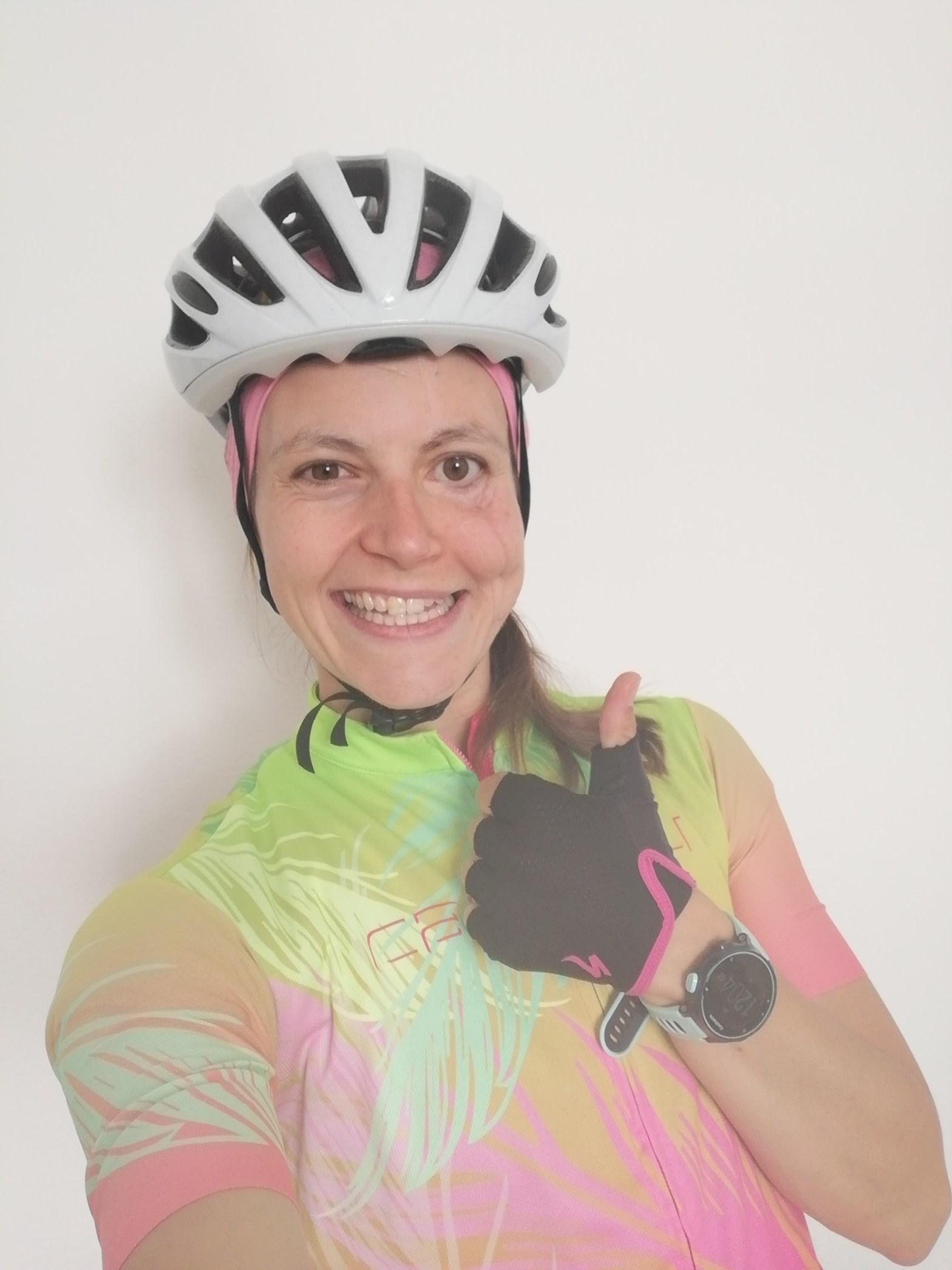 Triathlon junge Frau