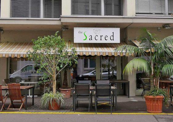 Sacred veganes bio Restaurant Zürich