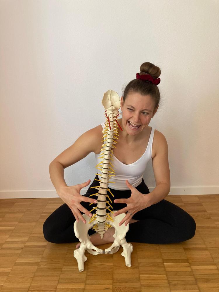 Stabilität unterer Rücken im Yoga