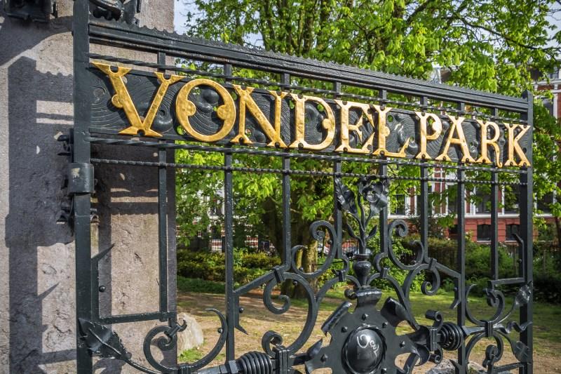 vondel park amsterdam
