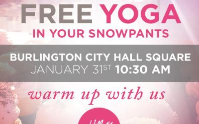 FREE Yoga in Your Snow Pants!