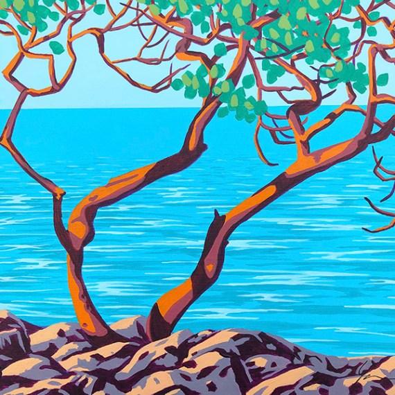 Arbutus Tree 1