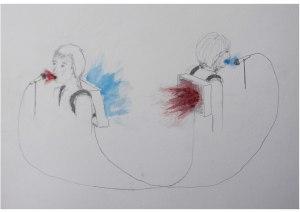 Lisa_Premke_hide_and_amplify_performance_drawing_weisser_elefant