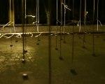 asymmetrische_information_Installation_View_detail_threads_magnets_needles_Lisa_Premk_Chemnitz_Wolkenkuckucksheim