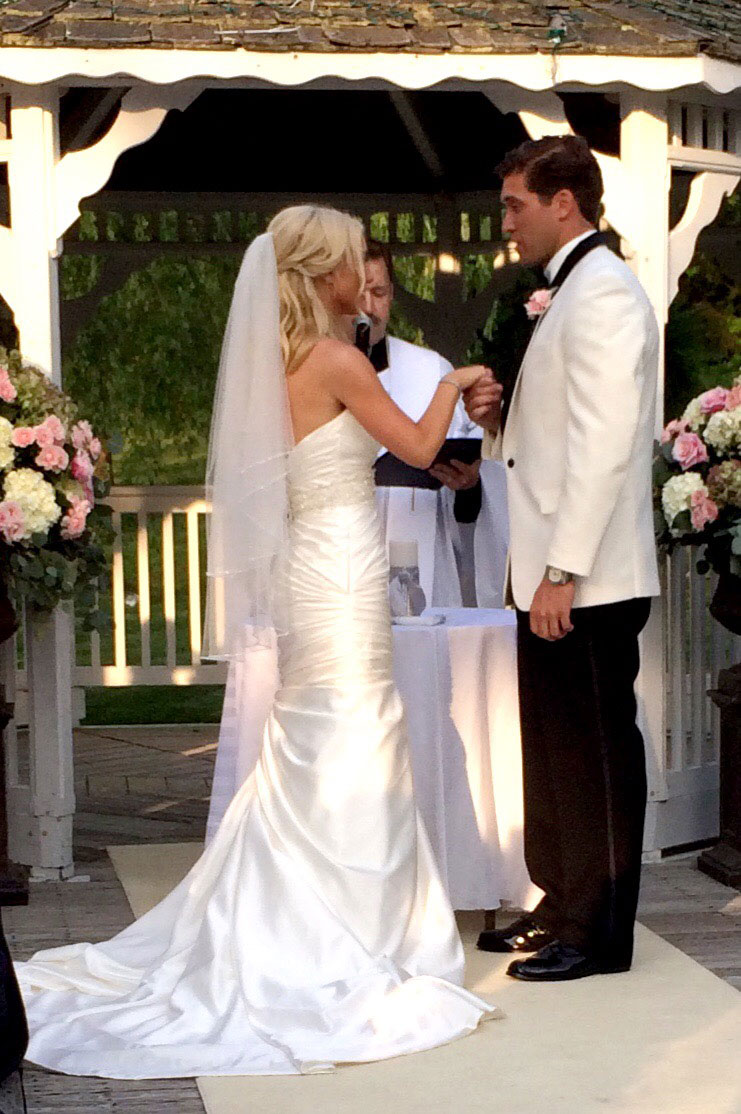 Lisa robertson in wedding dress - Truly a storybook couple it was one of the most tender and poignant ceremonies at one point the words were this is the hand that you will hold when you