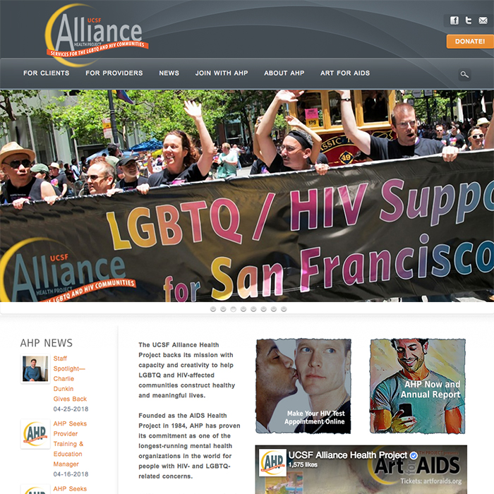 AHP-home-page