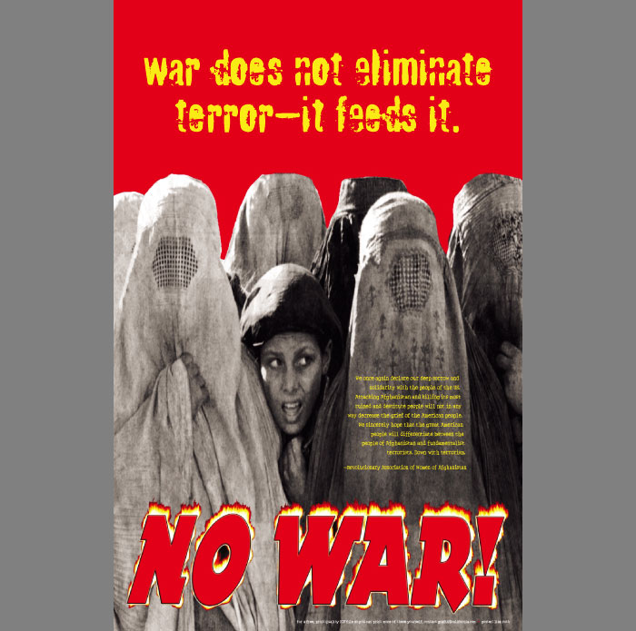 Anti-War-Burqas