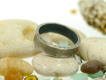 Ethical Eco Friendly Silver Wedding Ring | Lisa Rothwell-Young