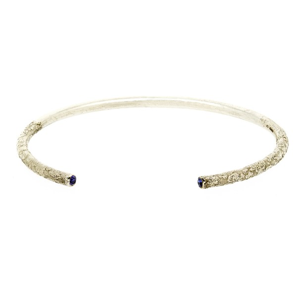 Recycled Ethical Silver Bangle | Lisa Rothwell-Young