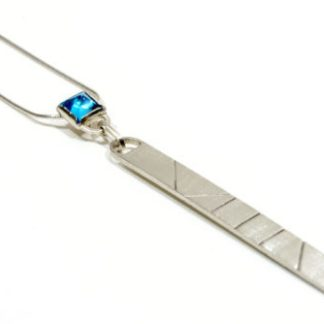 vegan recycled silver pendant | Lisa Rothwell-Young