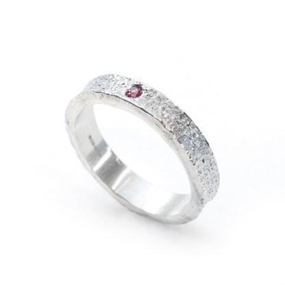 Vegan silver ring   Lisa Rothwell-Young