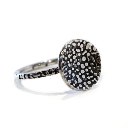 Vegan friendly silver ring | Lisa Rothwell-Young