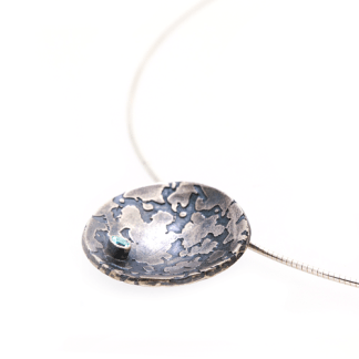 recycled silver pendant | Lisa Rothwell-Young