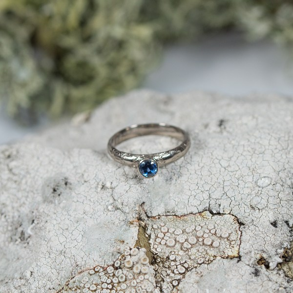 Lichen-Engagement-Ring-Top-View-Lisa-Rothwell-Young