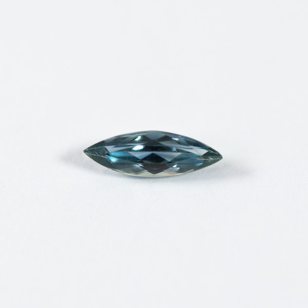 Ethical Marquis Shaped Blue Malawi Sapphire|Lisa Rothwell-Young