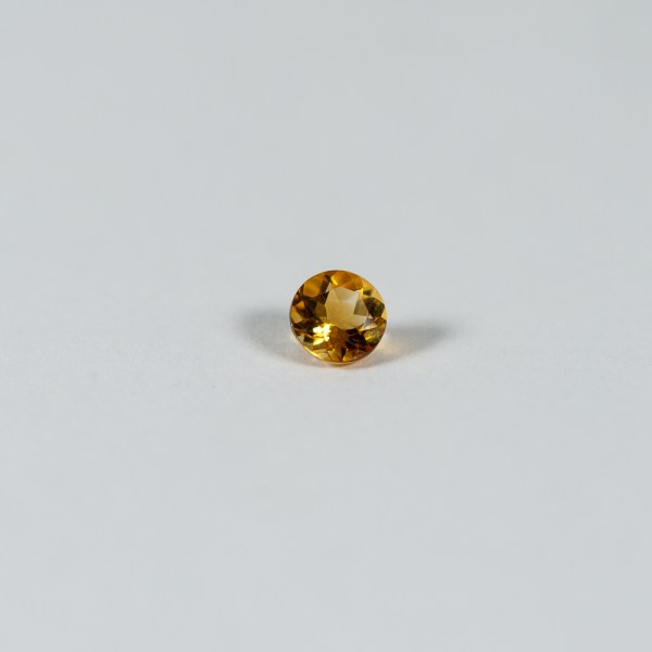 Ethical Round Golden Yellow Citrine|Lisa Rothwell-Young