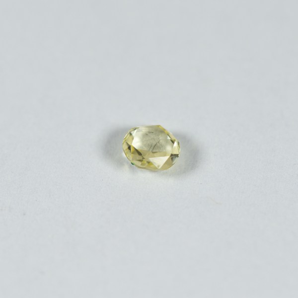 Ethical Round Rose Cut Pale Yellow Sapphire|Lisa Rothwell-Young
