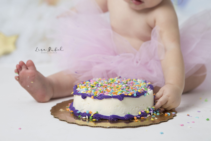 Nashville Tn Cake Smash Photography Lisa Rubel Photography