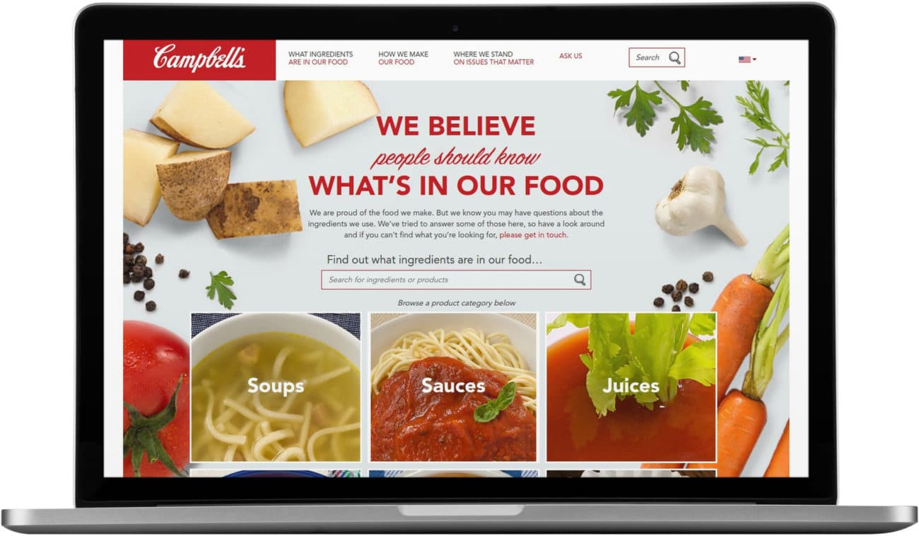Campbell Soup Company: What's In My Food?
