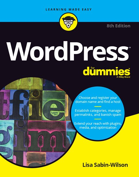 WordPress, Books, Resources, DIY, Author, Lisa Sabin-Wilson, For Dummies