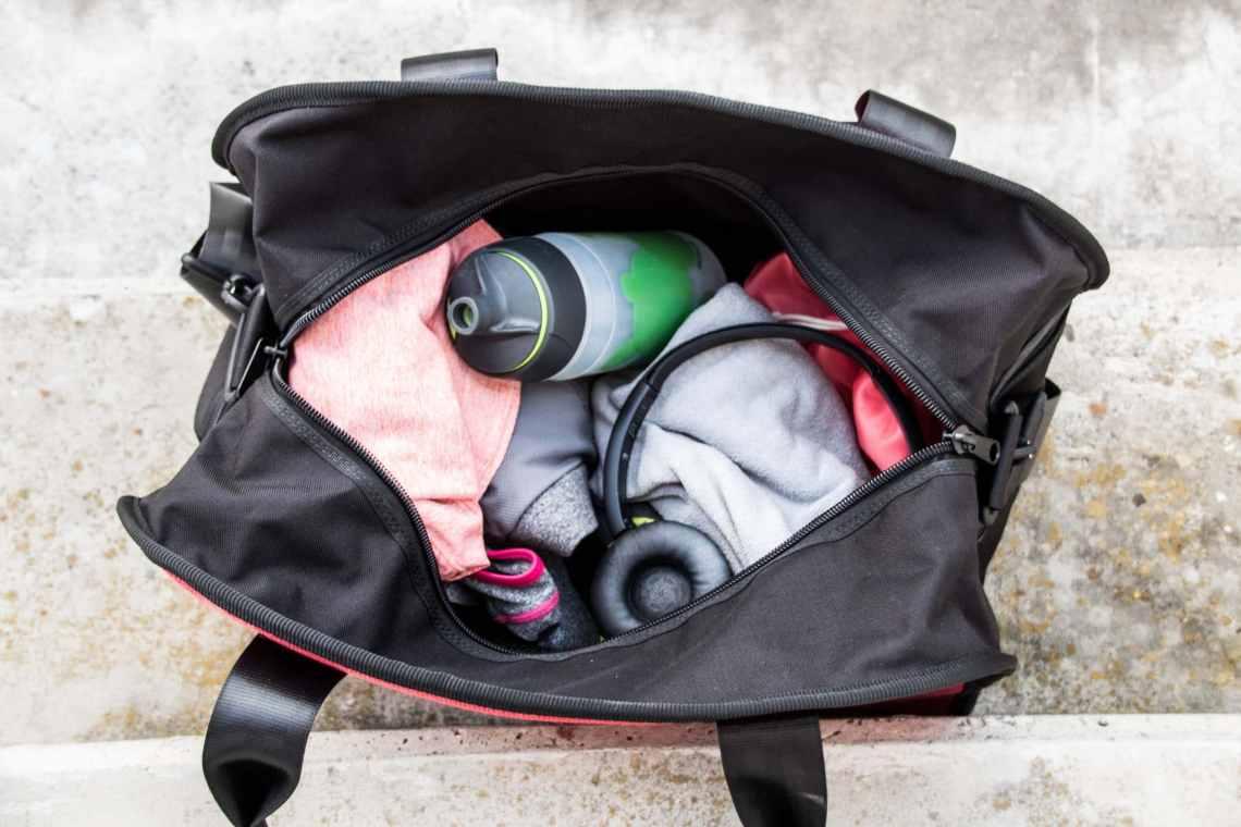 Der Inhalt meiner Sporttasche