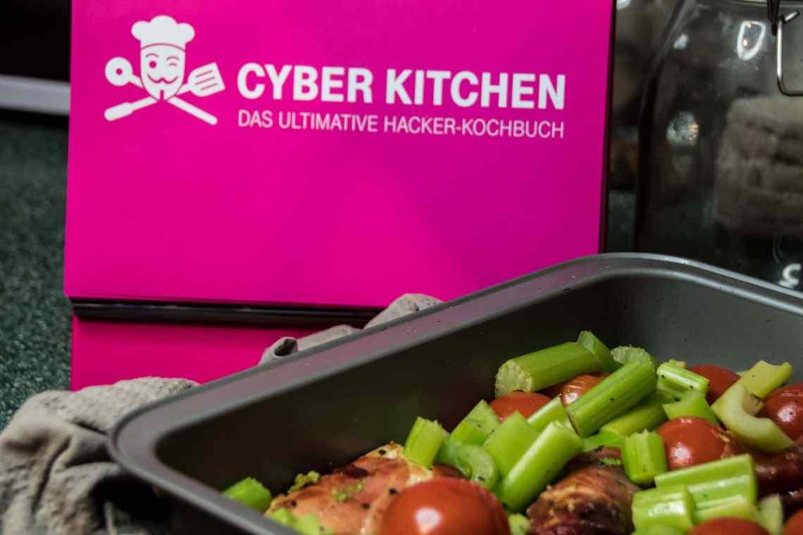 Das Cyber-Kitchen Kochbuch der deutschen Telekom.