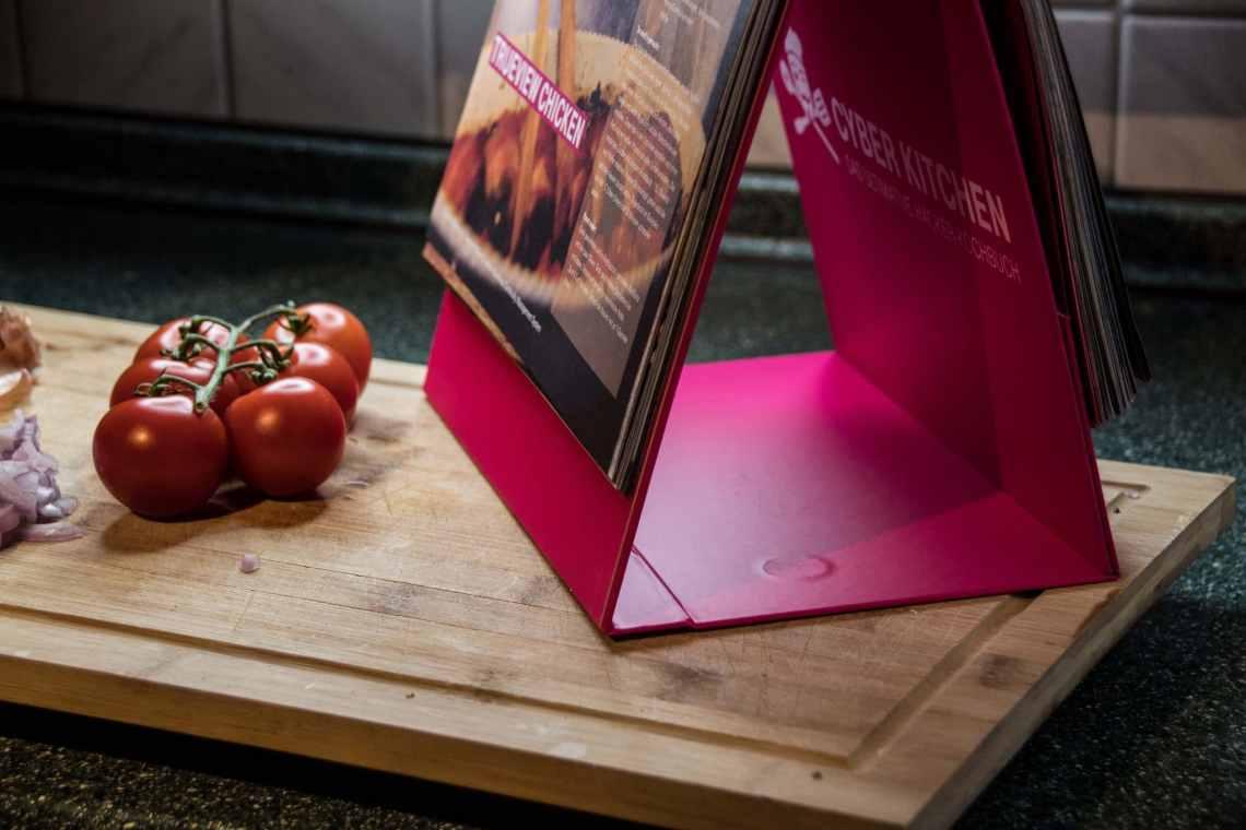 Cyber Kitchen von der deutschen Telekom ist ein praktisches Kochbuch.