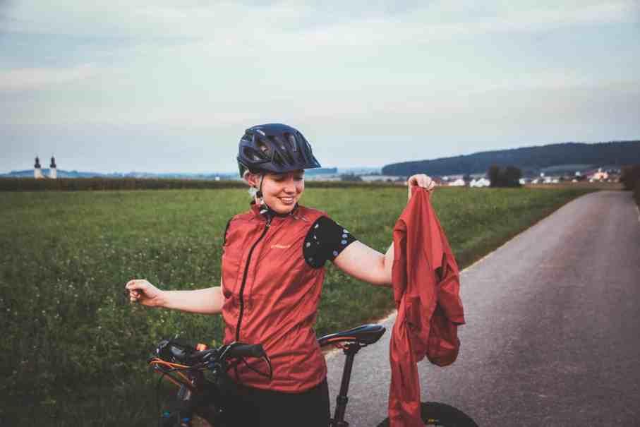 Gonso Windbreaker ideal für den Herbst zum Radfahren