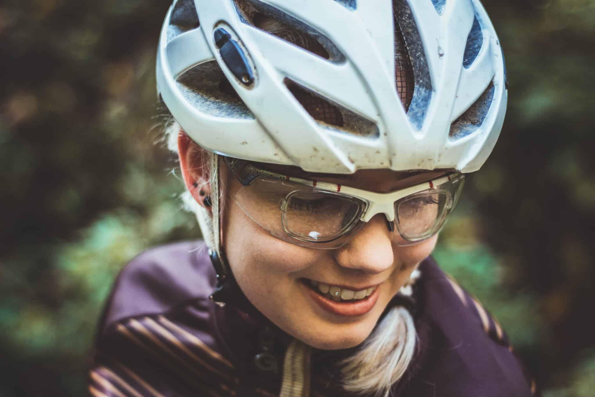 fahrradbrille f r brillentr ger sportbrille mit sehst rke lisasbuntewelt. Black Bedroom Furniture Sets. Home Design Ideas