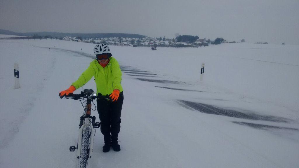 Radfahren im Winter - Meine persönlichen Erfahrungen.