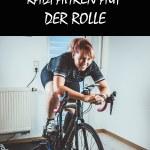 B Radtraining Winter Rollentraining Pain Cave Ausrüstung Schwarz