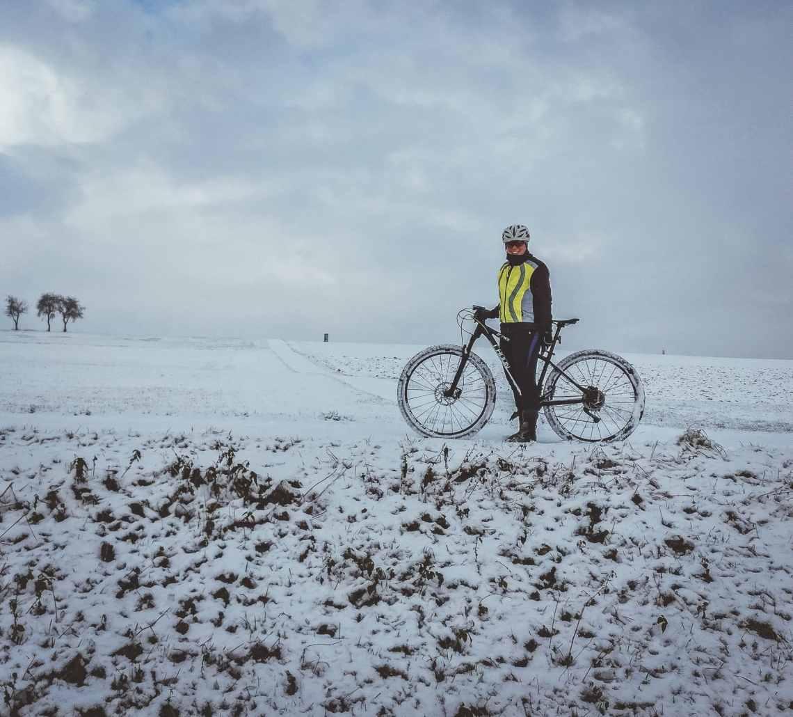 Tipps gegen kalte Füße beim Radfahren im Winter