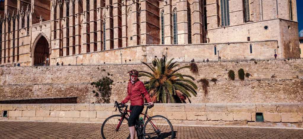 Mit dem Rennrad in Palma de Mallorca
