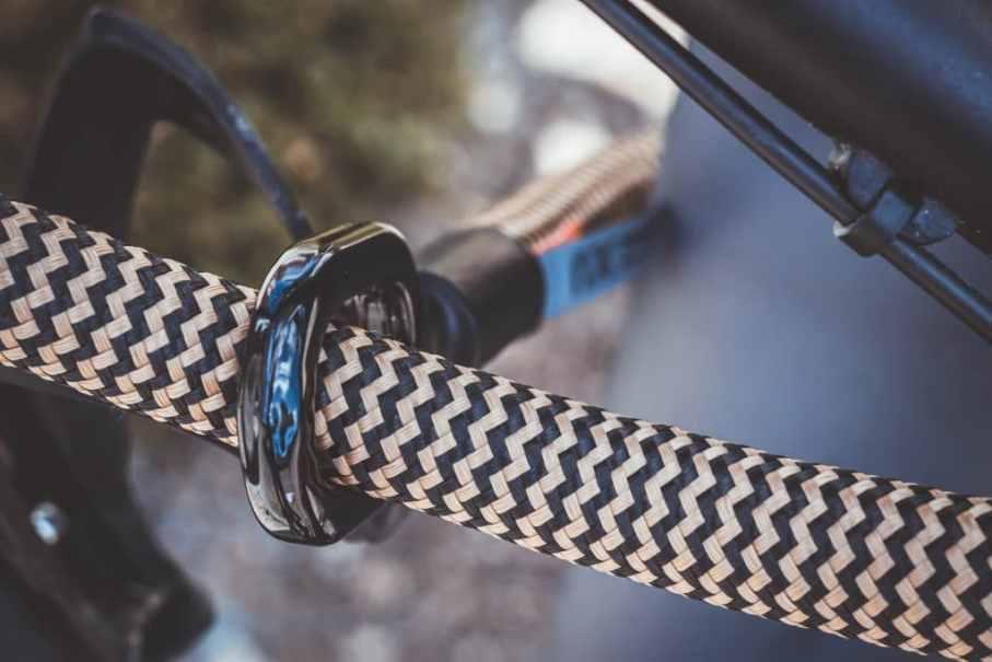 Textiles Fahrradschloss als Geschenkidee für Mountainbiker und Radfahrer