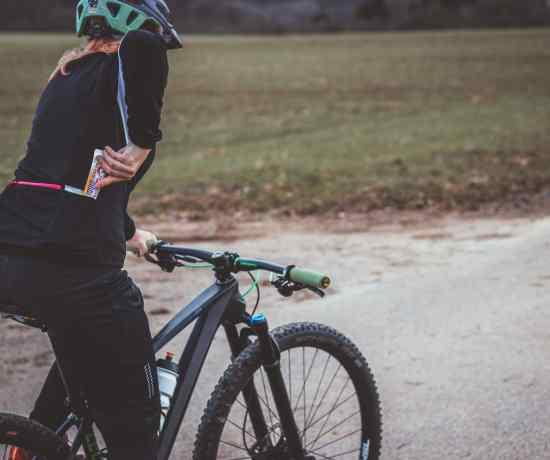 Richtige ernährung beim Radfahren mit Sanct Bernhard Sport