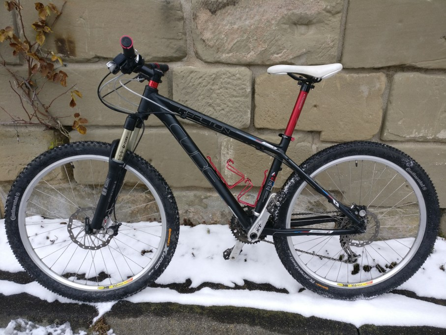Meine Mountainbike Fahrrad Geschichte: Cube Reaction Winterrad