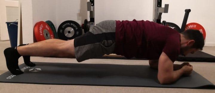 Planks für Radfahrer - Kraftübungen die hilfreich für Radsportler sind.