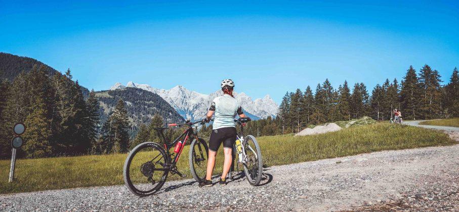 Rund um die Buchensteinwand mit dem Mountainbike im PillerseeTal