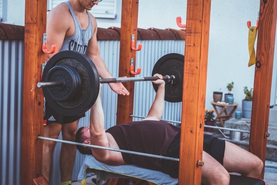 Rack Diy Anleitung Selber Bauen Homegym Gewichtstraining Klein 9
