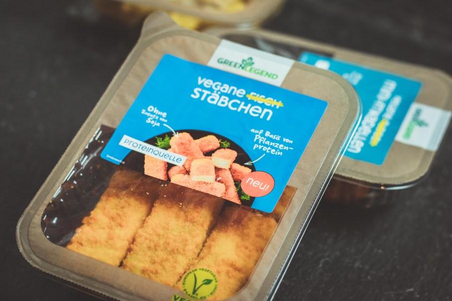 Vegane Fischstäbchen von Green Legend - pflanzliche Proteinquelle