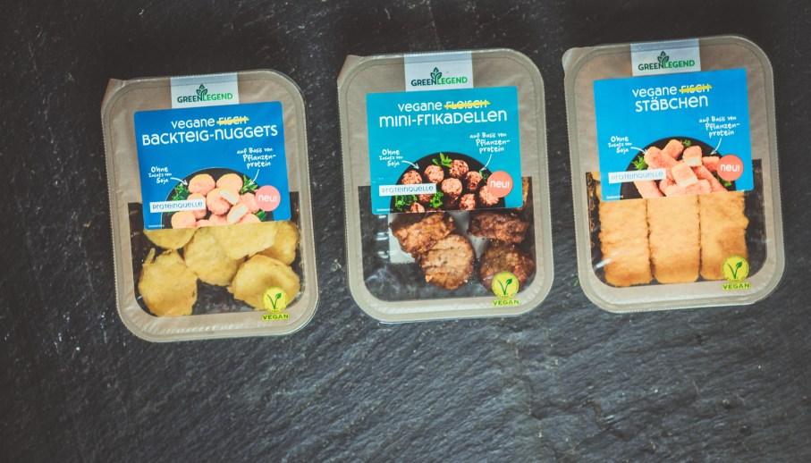 Die veganen Produkte von Green Legend - mit pflanzlicher Ernährung den Proteinbedarf decken