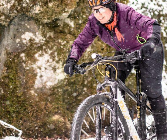Weches Fahrrad für den Winter - Radfahren im Schnee Erfahrungen und Tipps Mountainbike